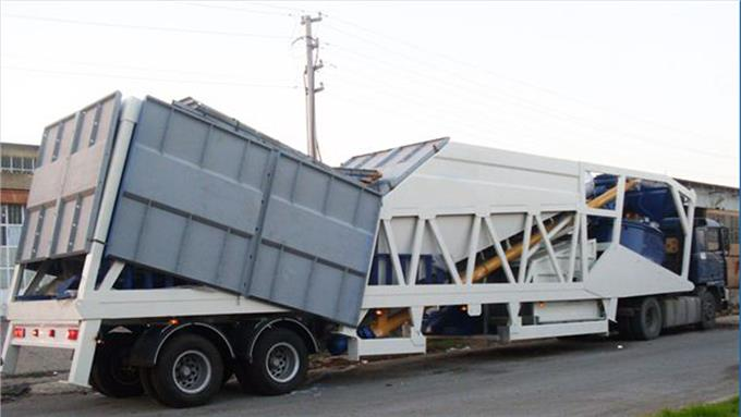 High Quality Material - Double Axle Trailer Needed Transportation