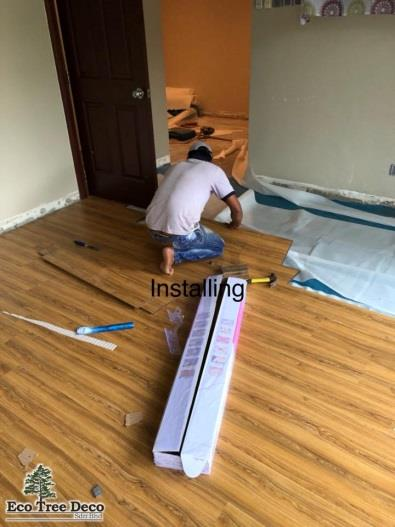Pakar Lantai Kayu Eco Tree Deco Sdn Bhd - Memasang Lantai Kayu Laminated Flooring