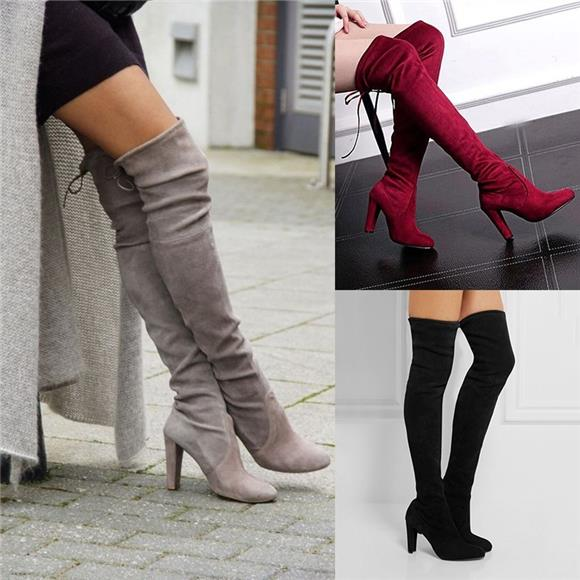 High Quality Material - Women Boots Autumn Winter Shoes
