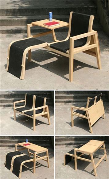 Kerusi Rekaan Perabot Dengan Pelbagai Fungsi