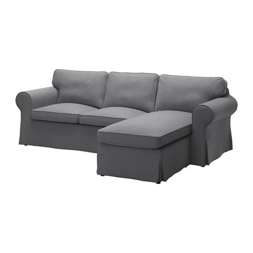 Nordvalla Dark Grey - Back Cushions Filled With
