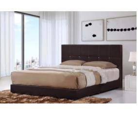 Quality Synthetic Leather - Queen Size Divan Bed