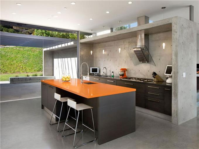 Kabinet Dapur Moden Hiasan Dalaman