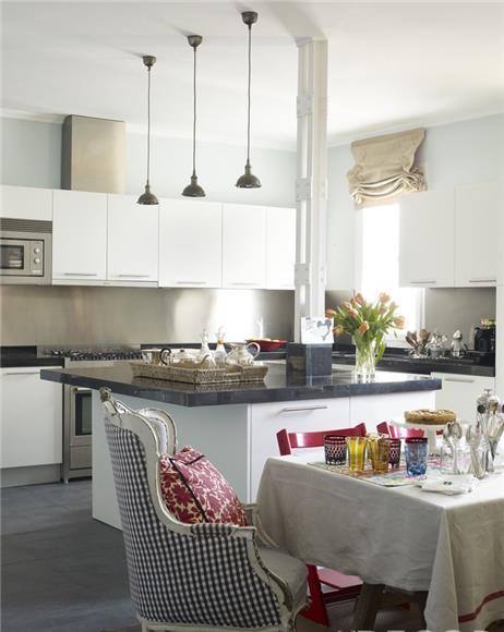 Pelan Lantai Reka Bentuk Dapur Kecil