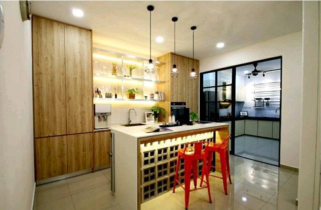 Membuatkan Ruang Ini Tampak Reka Bentuk Dapur