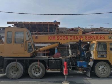 Perkhidmatan Penyewaan Kim Soon Kren - Syarikat Kim Soon Crane Service