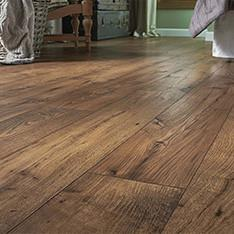 Being Installed - Laminate Flooring